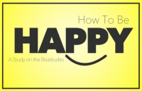 How to Be Happy: A Study On the Beatitudes