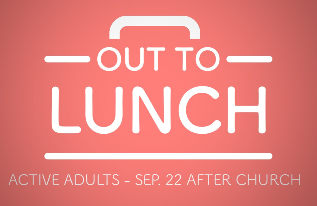 Active Adults - Out to Lunch
