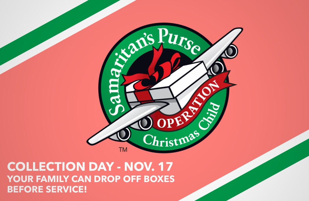 Operation Christmas Child Collection Day